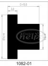 uszczelki silikonowe wysokotemperaturowe 1082-01