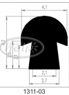 profile silikonowe 1311-03