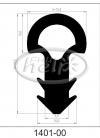 profil silikonowy 1401-00
