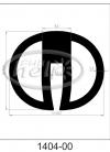 profil silikonowy 1404-00