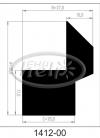 profil silikonowy 1412-00