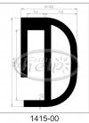 profil silikonowy 1415-00