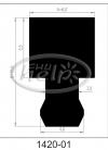 profil silikonowy 1420-01