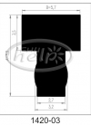 profil silikonowy 1420-03