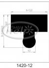 profil silikonowy 1420-12