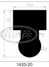 profil silikonowy 1420-20
