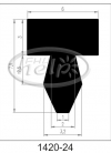 profil silikonowy 1420-24