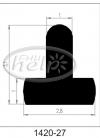 profil silikonowy 1420-27