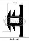 profil silikonowy 1461-01