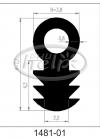 profil silikonowy 1481-01