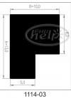 uszczelka silikonowa 1114-03