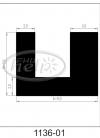 uszczelka silikonowa 1136-01