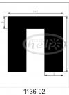 uszczelka silikonowa 1136-02