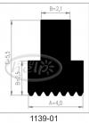 uszczelka silikonowa 1139-01