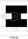 uszczelka silikonowa 1159-00