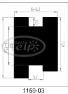 uszczelka silikonowa 1159-03