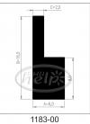 uszczelka silikonowa 1183-00