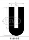 uszczelka silikonowa 1184-06
