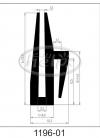 uszczelka silikonowa 1196-01